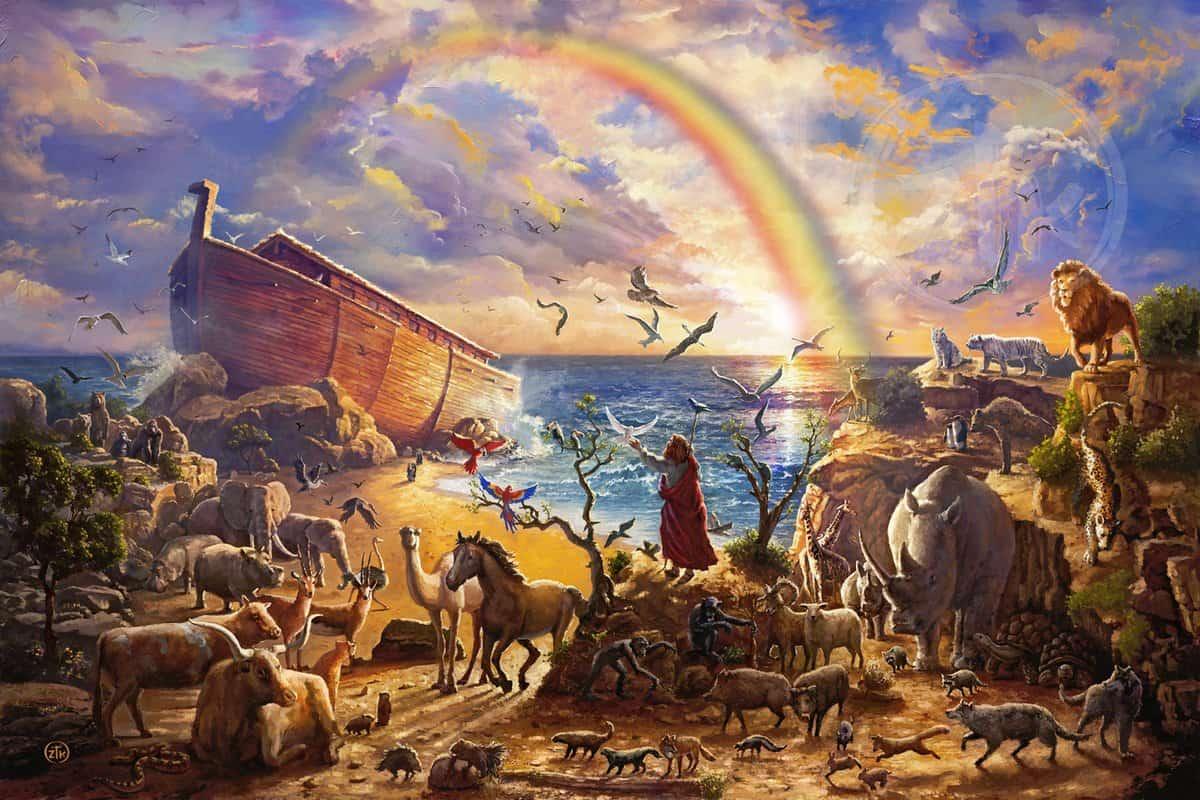 قصة سيدنا نوح للاطفال مكتوبة