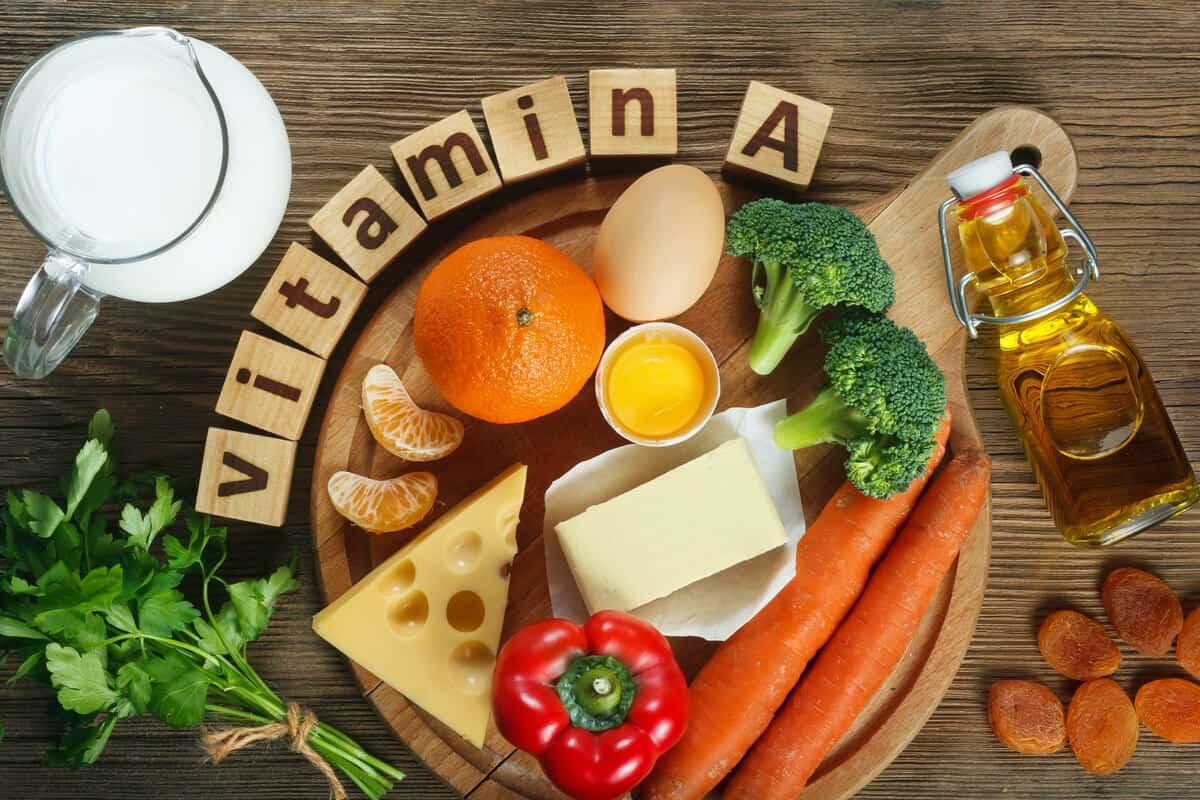 فوائد فيتامين أ للجسم والبشرة والشعر