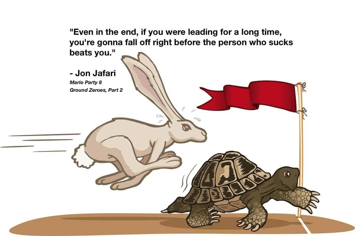 قصص اطفال قصة الأرنب والسلحفاة