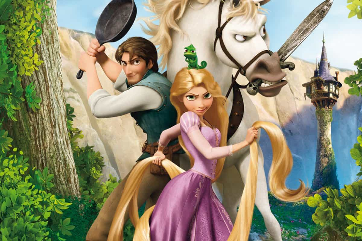 Rapunzel الأميرة ذات الشعر الطويل