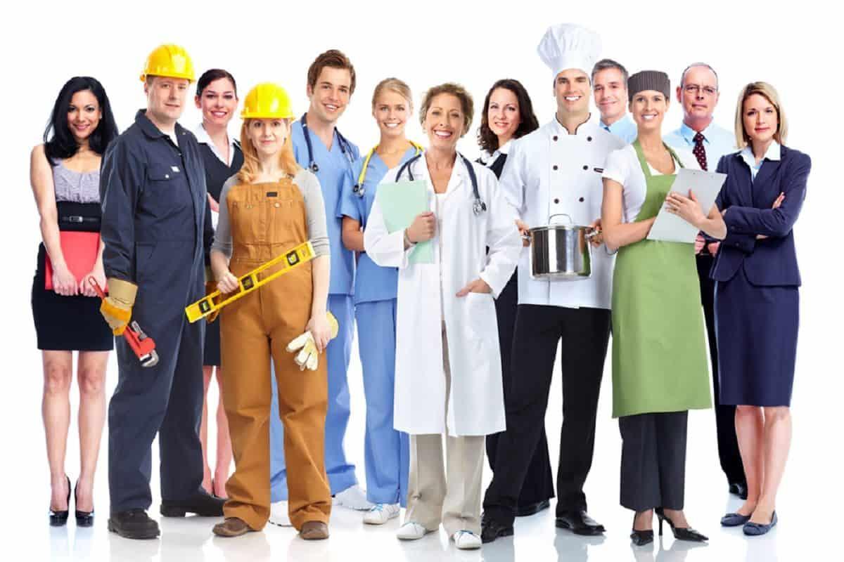 تمثل المهن الخدمية