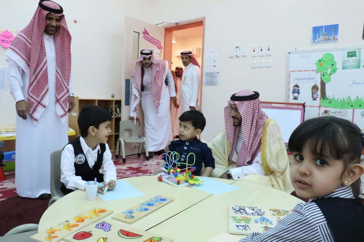 أعمار التسجيل والقبول في رياض الأطفال 1443